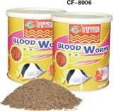 QUICK-FROZEN DRYING BLOOD WORM