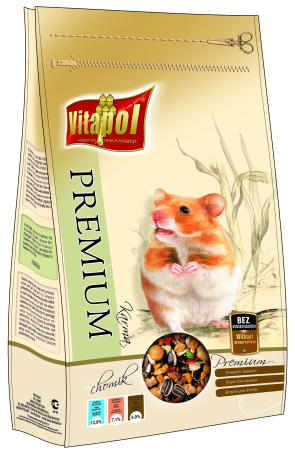 Premium food for hamster 900 g