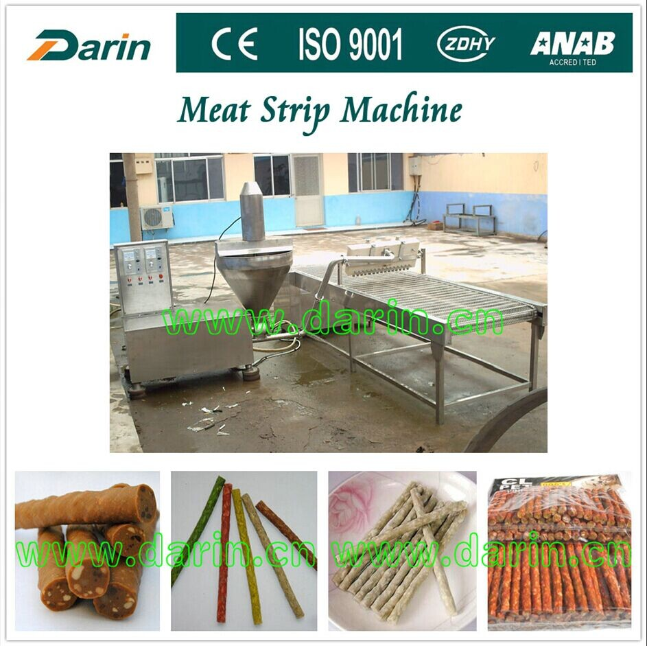 Pet Food Meat Strip Machine