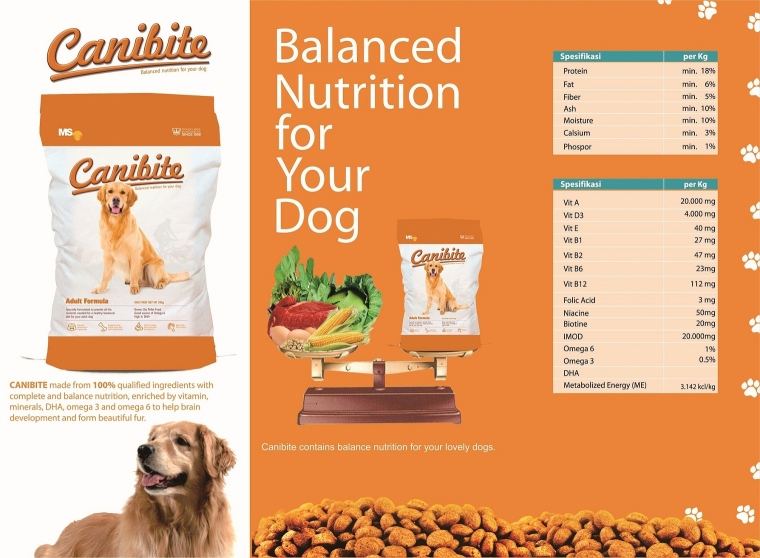 Canibite Dry Dog Food, Pet Animal Food