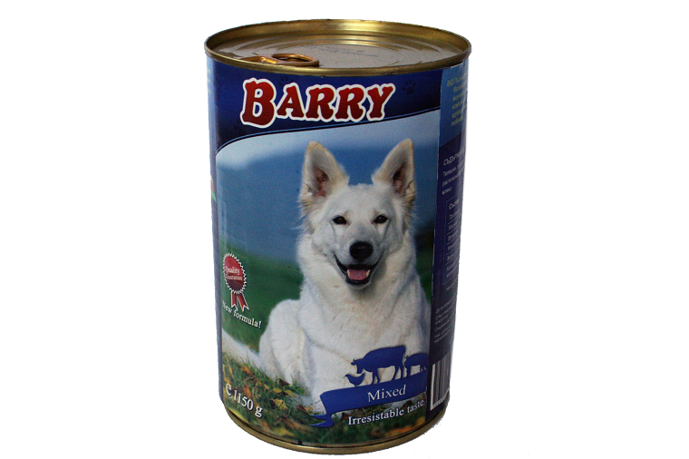 Barry 1150gr veal, chicken, mixed types