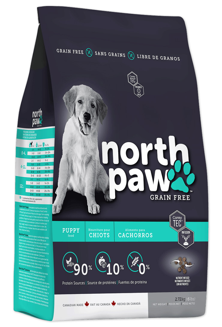North Paw Grain Free Puppy Food