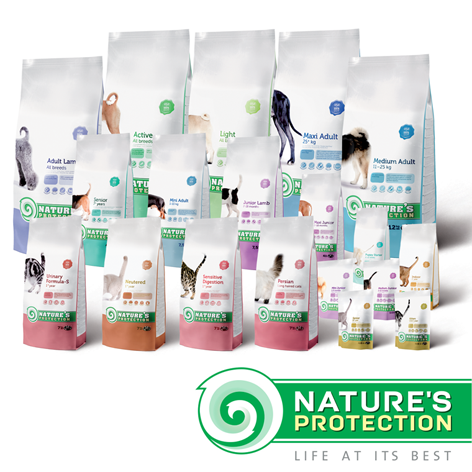 'Nature's Protection' super premium food for dogs