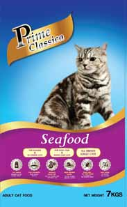 Prime Classica Adult Cat Food - Seafood Flavour