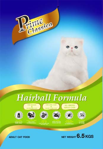 Prime Classica Cat food Hairball / Persian formula