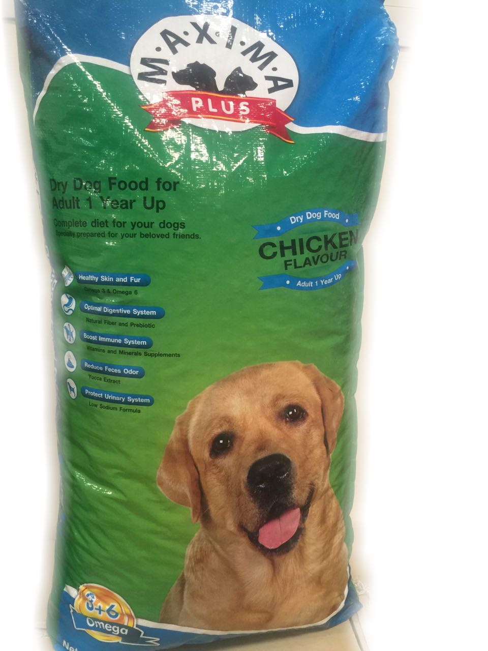 Maxima Plus Dog Food - Chicken Flavor