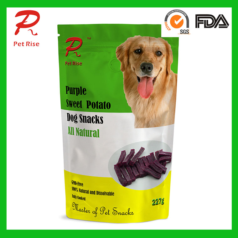 All Natural Dried Purple Sweet Potato Dry Dog Snacks