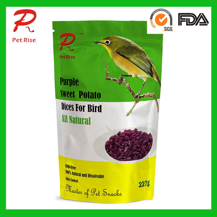 All Natural Dried Purple Sweet Potato Dry Bird Seed